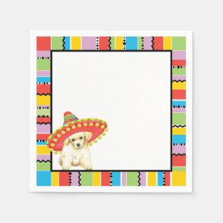 Fiesta Toy Poodle Paper Napkin
