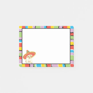 Fiesta Toy Poodle Post-it Notes