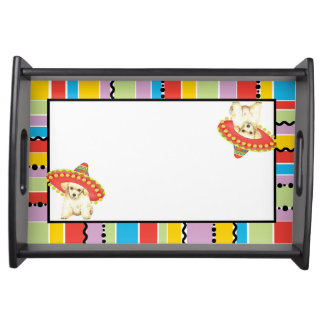 Fiesta Toy Poodle Serving Tray