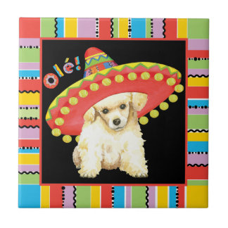 Fiesta Toy Poodle Tile