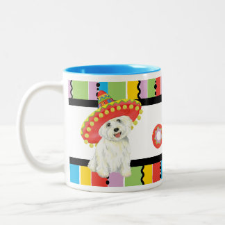 Fiesta Westie Two-Tone Coffee Mug