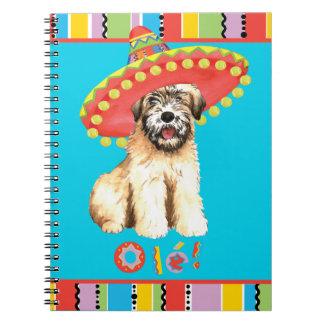 Fiesta Wheaten Notebook