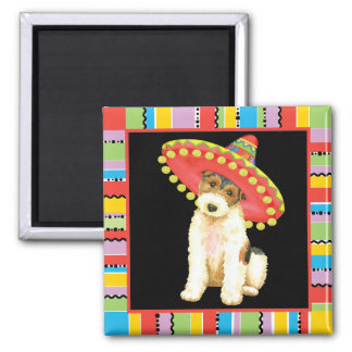 Fiesta Wire Fox Terrier Magnet
