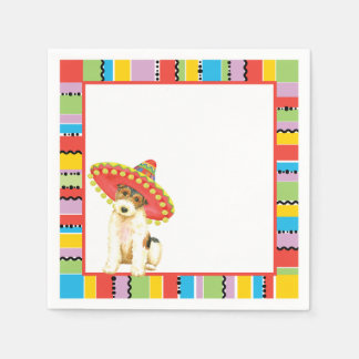 Fiesta Wire Fox Terrier Paper Napkins