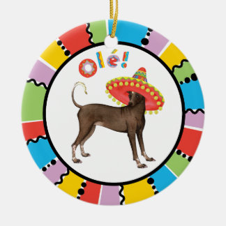 Fiesta Xolo Ceramic Ornament