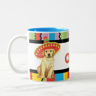 Fiesta Yellow Lab Two-Tone Coffee Mug