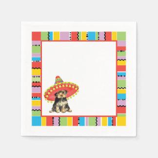 Fiesta Yorkie Paper Napkin