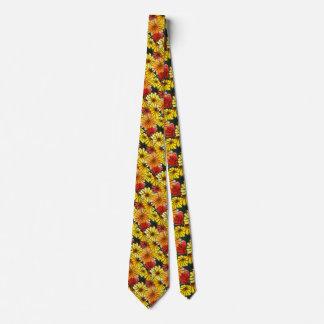 """""""Fiesty Floral 3"""" Flower Garden Neck Tie"""