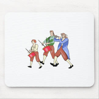 FIFE AND DRUM BAND MOUSE PAD