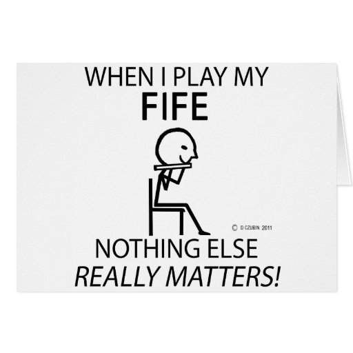 Fife Nothing Else Matters Cards