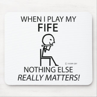 Fife Nothing Else Matters Mouse Pad