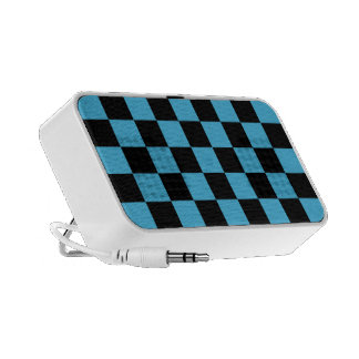 Fifies Blue Checked iPod Speaker