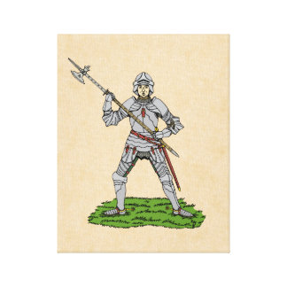 Fifteenth Century English Knight Canvas Print
