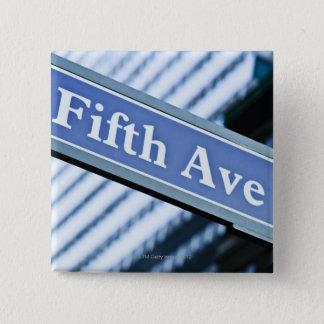Fifth Avenue 2 Inch Square Button