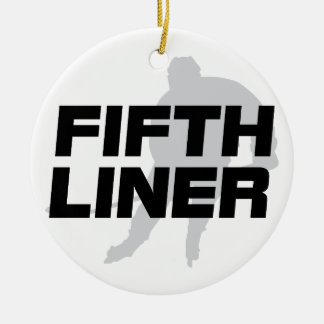 Fifth Liner Ceramic Ornament