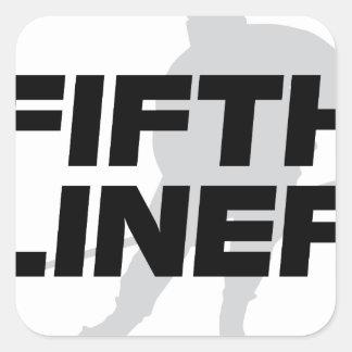 Fifth Liner Square Sticker