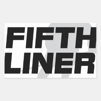Fifth Liner Sticker