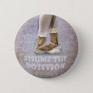 Fifth Position in Ballet 2 Inch Round Button