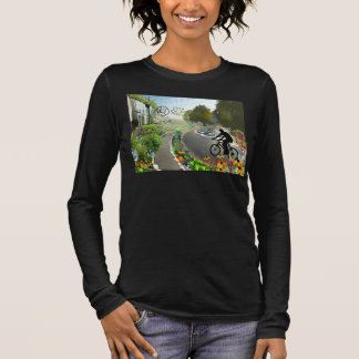 Fifth Sacred Biking in 2048 w. Spiral Long Sleeve T-Shirt
