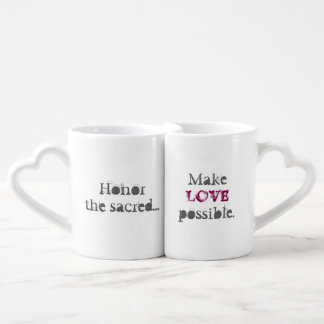 Fifth Sacred Make Love Possible Coffee Mug Set