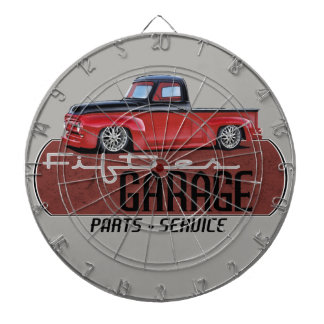 Fifties Garage with Truck Dartboard
