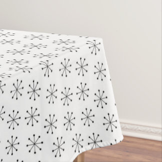 Fifties Style Atomic Starbursts | Mid-Century Tablecloth