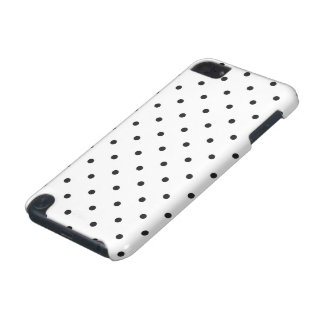 Fifties Style Black and White Polka Dot iPod Touch (5th Generation) Cover