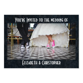 Fifties Style Diner Wedding Card