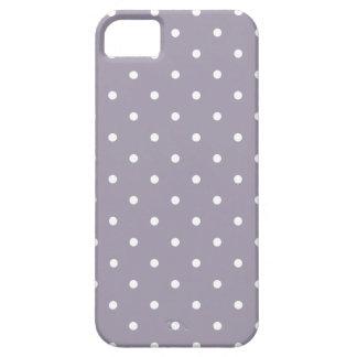 Fifties Style Sea Fog Polka Dot iPhone 5 Case