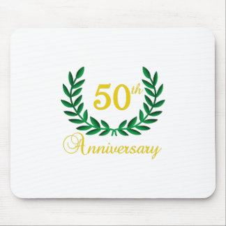 FIFTIETH ANNIVERSARY MOUSE PAD