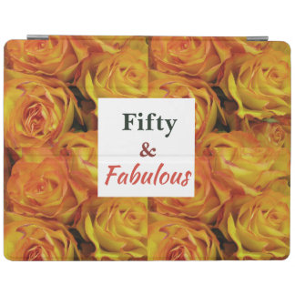 Fifty and Fabulous Birthday Collection iPad Cover