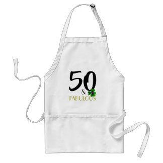 Fifty and fabulous fabric apron