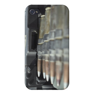 Fifty-caliber machine gun rounds covers for iPhone 4