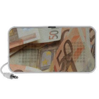 Fifty Euro Money Art Speaker System