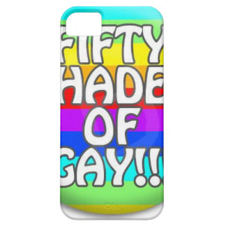 FIFTY SHADES OF GAY MULTI SHADE iPhone 5 COVERS