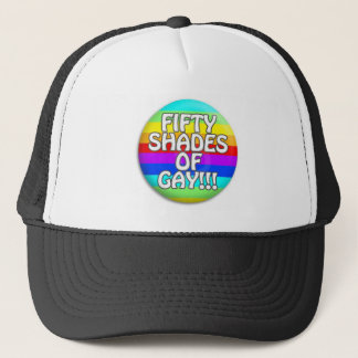 FIFTY SHADES OF GAY MULTI SHADE TRUCKER HAT