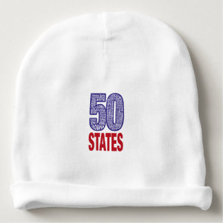 Fifty United States of America Baby Beanie