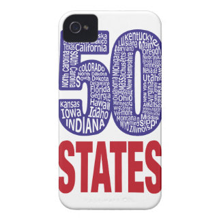 Fifty United States of America Case-Mate iPhone 4 Case