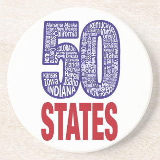 Fifty United States of America Coaster
