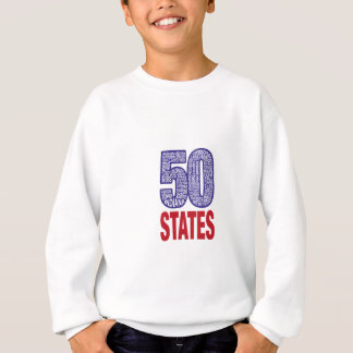 Fifty United States of America Sweatshirt
