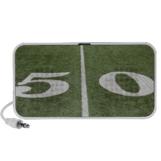 Fifty yard line notebook speakers