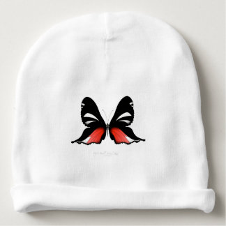 fig 3 Red Butterfly by tony fernandes Baby Beanie