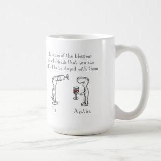 Fig and Agatha Coffee Mug