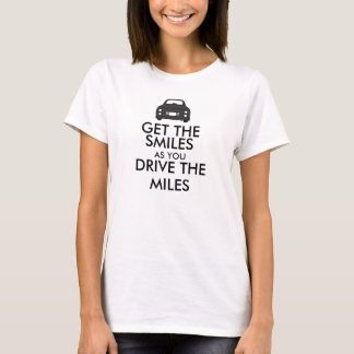 Figaro Car - Smiles Quote t-shirt