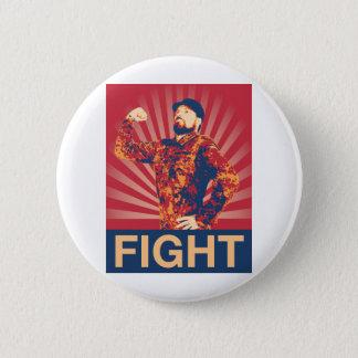 FIGHT 2 INCH ROUND BUTTON