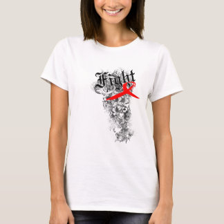 Fight AIDS Ribbon - Women's Shirt