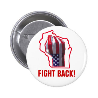 Fight Back! 2 Inch Round Button