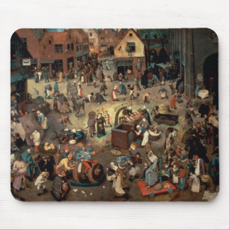 Fight between Carnival and Lent, 1559 Mouse Pad