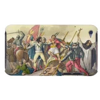 Fight Between Local Indians and Conquistadors (col Barely There iPod Covers