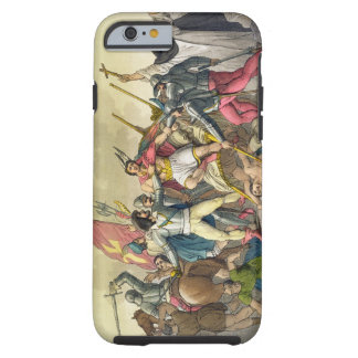 Fight Between Local Indians and Conquistadors (col Tough iPhone 6 Case